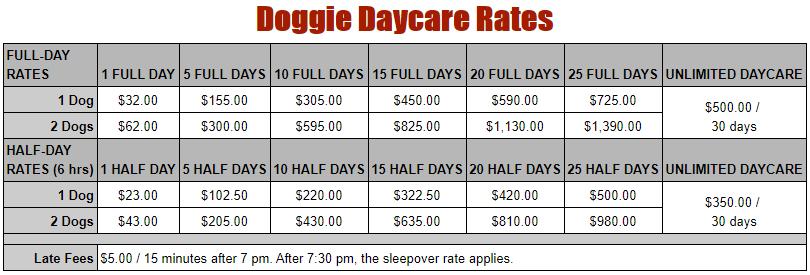 doggie-daycare-rates